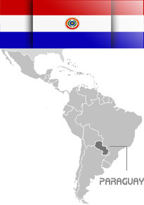 Map of Paraguay